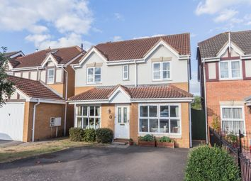 Thumbnail 4 bed detached house for sale in Holbush Way, Irthlingborough, Wellingborough