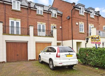 Thumbnail 3 bed terraced house for sale in Bovarde Avenue, Kings Hill, West Malling, Kent