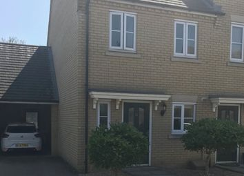 Thumbnail 2 bedroom semi-detached house for sale in Cook Drive, Eynesbury, Cambridgeshire