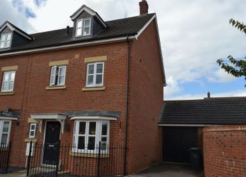 Thumbnail 4 bed end terrace house to rent in Hartley Gardens, Gloucester