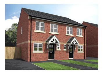 Thumbnail 3 bed town house for sale in Well Hill Drive, Harworth, Doncaster