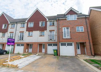 Thumbnail 4 bed terraced house for sale in Waterside Close, London