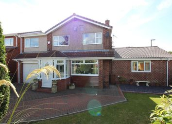 Thumbnail 5 bedroom detached house for sale in Park Lea, East Herrington, Sunderland