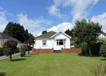 Thumbnail 3 bed detached bungalow for sale in Glynderwen Crescent, Derwen Fawr, Sketty