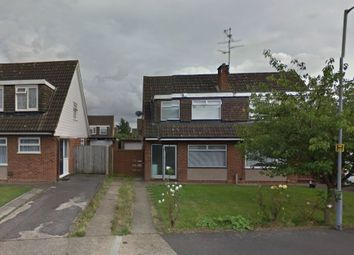 Thumbnail 3 bed semi-detached house to rent in Wren Close, Luton