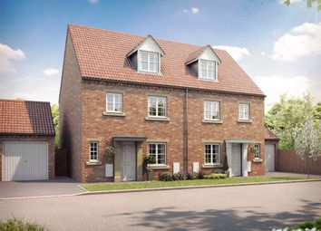 "Thumbnail 4 bed semi-detached house for sale in ""The Welburn"" at Fordlands Road, Fulford, York"
