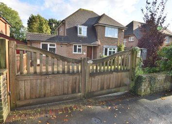 Thumbnail 3 bed detached house for sale in London Road South, Merstham, Redhill