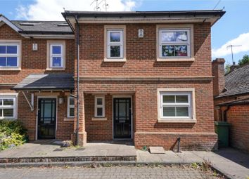 Thumbnail 4 bed terraced house for sale in Brooklands Road, Weybridge, Surrey
