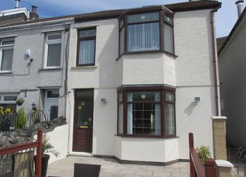 Thumbnail 3 bed semi-detached house for sale in Mount Pleasant, Troedyrhiw, Merthyr Tydfil