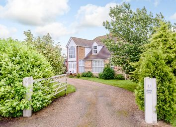 Thumbnail 5 bed detached house for sale in Middle Fen Lane, Washingborough, Lincoln