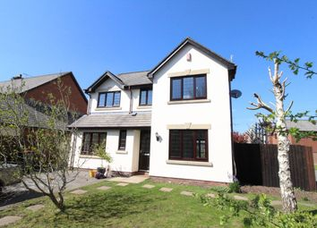 Thumbnail 4 bedroom detached house for sale in East Lynne Gardens, Caerleon, Newport