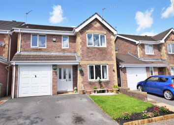 Thumbnail 4 bed detached house for sale in Willow Close, Brynteg, Pontypridd
