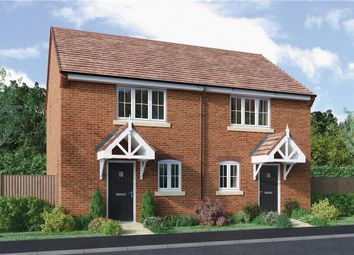 "Thumbnail 2 bedroom semi-detached house for sale in ""Hopton"" at Starflower Way, Mickleover, Derby"