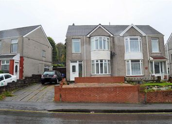 Thumbnail 3 bed semi-detached house for sale in Pentregethin Road, Swansea