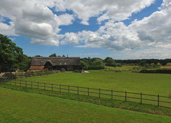 Thumbnail 5 bedroom barn conversion for sale in Henham, Beccles