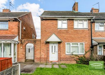 Thumbnail 2 bed end terrace house for sale in Glastonbury Crescent, Mossley, Bloxwich