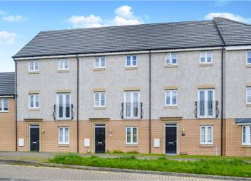Thumbnail 4 bedroom town house for sale in Mctaggart Crescent, Motherwell