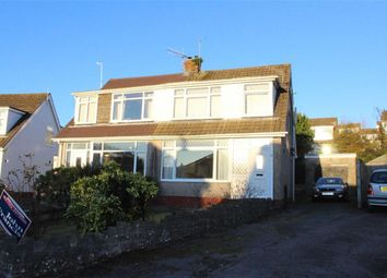 Thumbnail 3 bed semi-detached bungalow for sale in St. Aiden Drive, Killay, Swansea