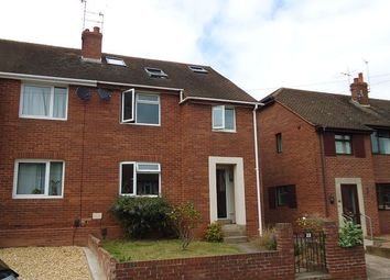 Thumbnail 4 bed semi-detached house to rent in Kingsway, Heavitree, Exeter