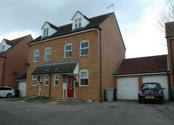 Thumbnail 3 bed semi-detached house to rent in Lady Jane Franklin Drive, Spilsby