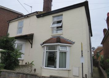Thumbnail 2 bed flat for sale in Southcliff Road, Southampton