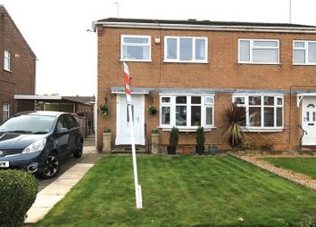 Thumbnail 3 bed semi-detached house for sale in Hamilton Drive, Warsop, Mansfield