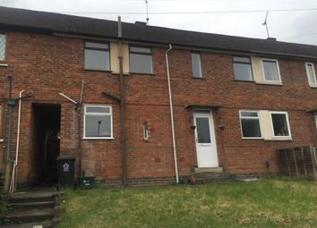 Thumbnail 3 bedroom terraced house for sale in Aikman Avenue, Leicester