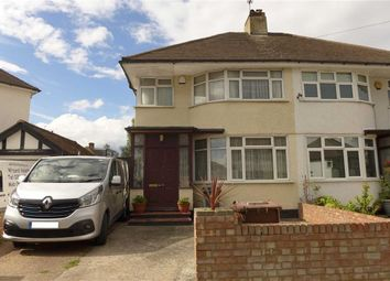 Thumbnail 3 bed semi-detached house for sale in Hermitage Way, Stanmore, Middlesex