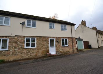 Thumbnail 2 bed semi-detached house to rent in Mill Corner, Soham, Ely