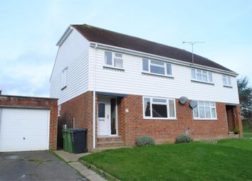 Thumbnail 3 bed semi-detached house to rent in Heathlands, Westfield, Hastings