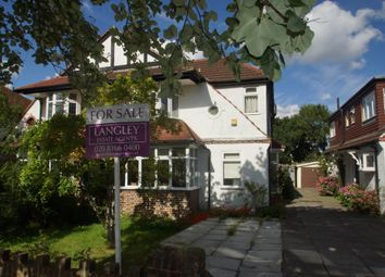 Thumbnail 4 bed semi-detached house for sale in Eden Way, Beckenham