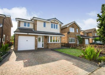 Thumbnail 4 bed detached house for sale in Dunmoor Close, Newcastle Upon Tyne