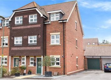 Thumbnail 4 bed semi-detached house for sale in Waterers Way, Bagshot, Surrey