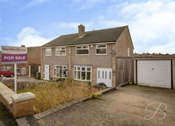 Thumbnail 3 bed semi-detached house for sale in Valmont Avenue, Mansfield