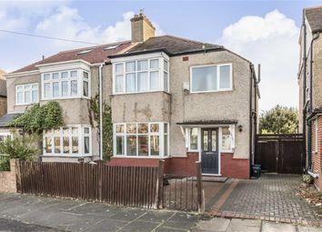 Thumbnail 3 bed semi-detached house for sale in Alton Gardens, Whitton, Twickenham