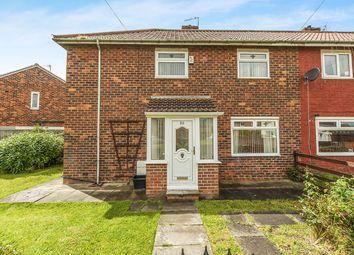 Thumbnail 3 bed semi-detached house for sale in Langridge Crescent, Middlesbrough