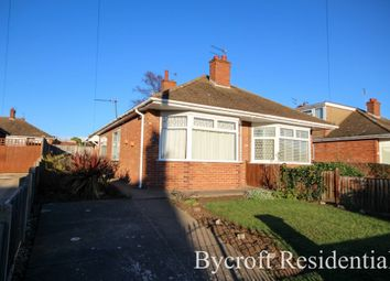 Thumbnail 2 bed semi-detached bungalow for sale in Long Lane, Bradwell, Great Yarmouth