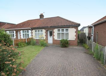 Thumbnail 2 bed bungalow for sale in Oak Avenue, Thorpe St Andrew, Norwich