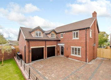 Thumbnail 4 bed detached house for sale in Withington, Shrewsbury