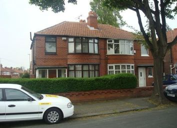 Thumbnail 4 bed property to rent in Stephens Road, Withington, Manchester