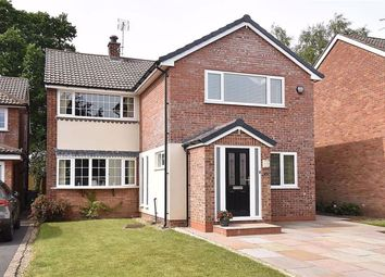 Thumbnail 4 bed detached house for sale in Worthington Close, Macclesfield, Cheshire