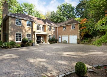 Thumbnail 6 bed detached house for sale in Bagshot Road, Ascot, Berkshire