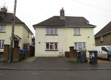Thumbnail 2 bed semi-detached house for sale in Herbert Road, Salisbury