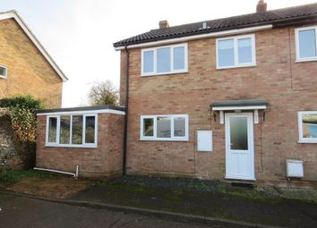 Thumbnail 3 bed end terrace house for sale in Bailiwick Court, East Harling, Norwich