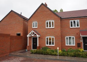 Thumbnail 3 bed end terrace house for sale in Baxters Court, Redditch