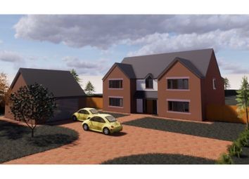 Thumbnail 5 bed detached house for sale in London Road, Woore