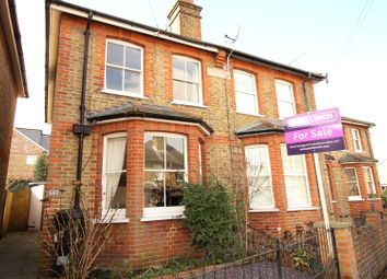 Thumbnail 3 bed semi-detached house for sale in Grove Road, Ashtead