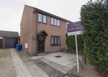 Thumbnail 3 bed semi-detached house for sale in Anderson Close, New Whittington, Chesterfield