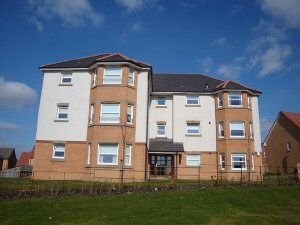 Thumbnail 2 bed flat to rent in Flat H Fieldfare View, Dunfermline