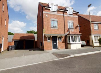 Thumbnail 5 bed detached house for sale in Stillington Crescent, Hamilton, Leicester